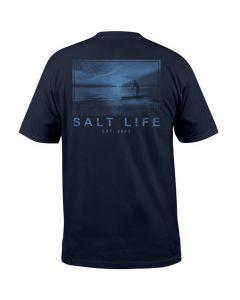 Salt Life Men's Vast Waters T-Shirt Navy