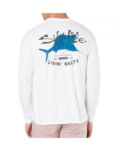 Salt Life Men's Big Shot T-Shirt White
