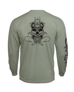 Salt Life Men's Ghost Ship T-Shirt Olive