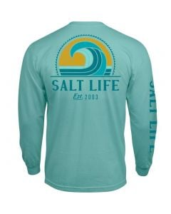 Salt Life Men's Big Barrel T-Shirt Aruba Blue