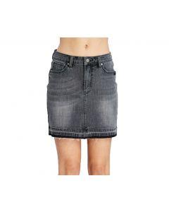 Wishlist Women's Denim Skirt Denim Black