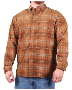 North River Men's Long Sleeve Corduroy Shirt Hazel