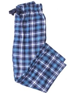 Stillwater Supply Co Men's Fleece Pants Blue Plaid