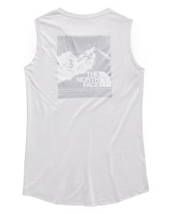 The North Face Women's Vintage Pyrenees Tri-Blend Muscle Tank TNF Ligh