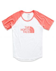 The North Face Women's Short Sleeve Half Dome Graphic Tri-Blend Baseba