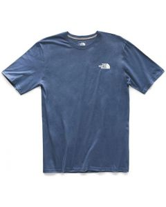 The North Face M S/S Red Box Tee Urban Navy White