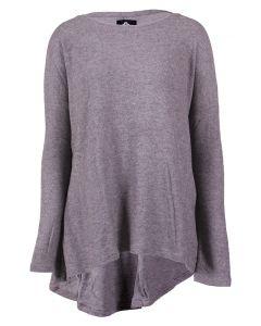 Angie Women's Soft Knit Tunic Grey