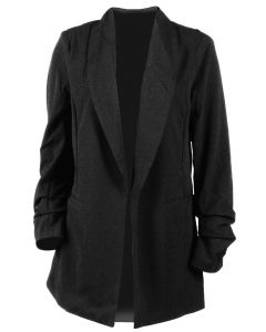 One 5 One Womens's Blazer Jacket Black
