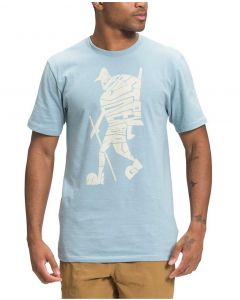 The North Face Men's Hiker Evolution T-Shirt Tourmaline Blue