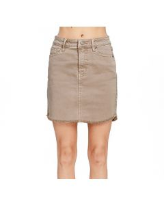 Wishlist Women's Denim Skirt Cocoa