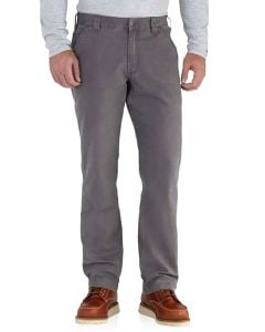 Carhartt Men's Rugged Flex Rigby Dungaree Gravel