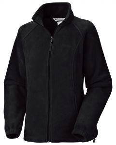 Columbia Sportswear Womens Benton Springs Full Zip Black Coat