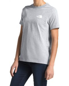 The North Face Women's Red Box T-Shirt TNF Light Grey Heather Asphalt