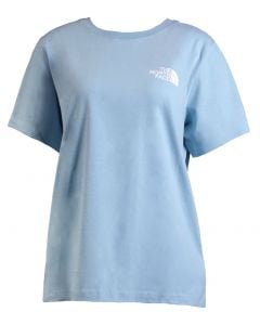 The North Face Women's Red Box T-Shirt Windmill Blue TNF White