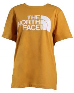 The North Face Women's Half Dome T-Shirt Golden Spice TNF White