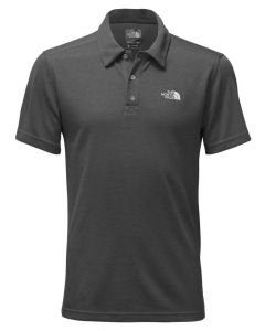 The North Face Men's Plaited Crag Polo Dark Grey