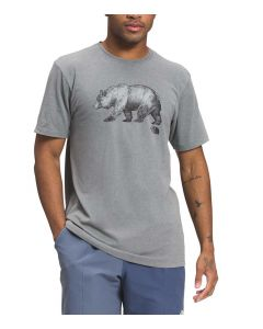 The North Face Men's Bear T-Shirt Medium Grey