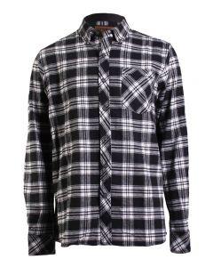 North River Men's Long Sleeve Cotton Shirt Black