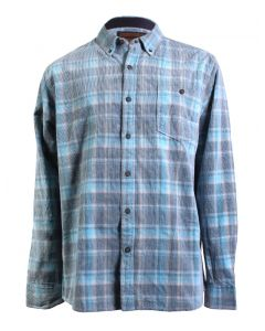 North River Men's Long Sleeve Corduroy Shirt Allure