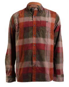 North River Men's Long Sleeve Corduroy Shirt Dark Olive