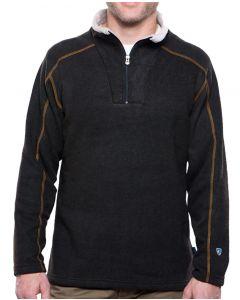 Kuhl Europa Men's 1/4 Zip Sweater Charcoal