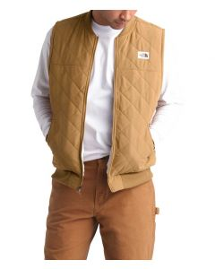 The North Face Men's Chuchillo Insulated Vest Cedar Brown