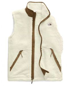 The North Face Men's Campshire Vest White Khaki
