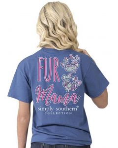 Simply Southern S/S Preppy Fur Momma Moonrise
