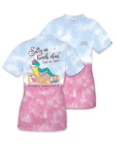Simply Southern Women's Preppy Chair T-Shirt Icepop