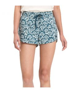 The North Face Women's Class V Mini Shorts Blue Floral