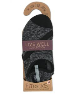 FitKicks Women's Live Well Black