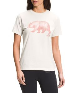 The North Face Women's Bear T-Shirt Vintage White