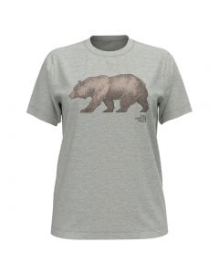 The North Face Women's Bear T-Shirt Light Grey