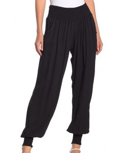Angie Women's Smock Waist Jogger Black