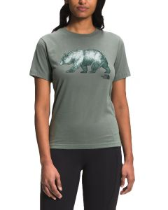 The North Face Women's Bear T-Shirt Agave Green