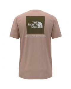 The North Face Women's Box NSE T-Shirt Sand Pink