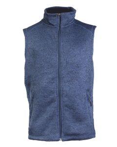 Stillwater Supply Co Men's Full Zip Vest Blue