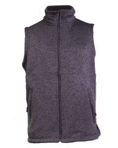 Stillwater Supply Co Men's Full Zip Vest Heather Grey