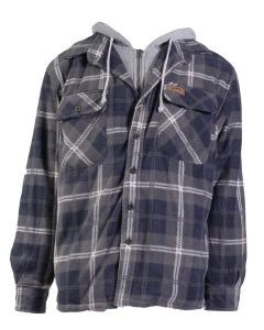 Stillwater Supply Co Men's Hooded Jacket Grey Blue