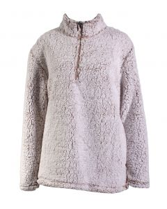 Stillwater Supply Co Women's 1/4 Zip Pullover Oatmeal