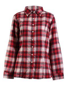 Stillwater Supply Co Women's Flannel Shirt Red White
