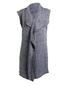 Stillwater Supply Co Women's Cardigan Vest Grey