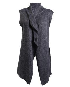 Stillwater Supply Co Women's Cardigan Vest Charcoal