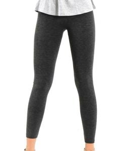 One 5 One Women's Heather Fleece Leggings Grey