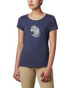 Columbia Sportswear Women's Hidden Lake T-Shirt Nocturnal Heather