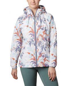 Columbia Sportswear Women's Side Hill Printed Windbreaker New Moon