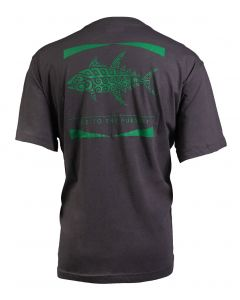 Columbia Sportswear Men's PFG Tribal Fish Pocket Tee City Grey Tuna