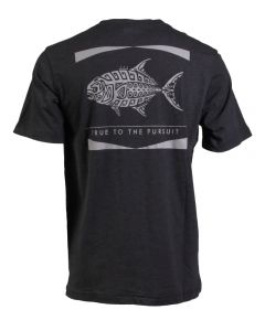 Columbia Sportswear Men's PFG Tribal Fish Pocket Tee Black Permit