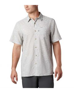 Columbia Sportswear Men's PFG Super Slack Tide Camp Shirt Cool Grey