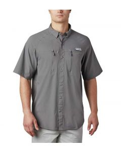 Columbia Sportswear Men's Terminal Tackle PFG T-Shirt City Grey